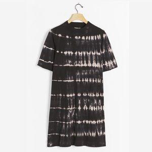 Anthro t.la Heidi Mock Neck Tee Dress
